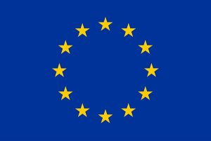 EU flag shown in acknowledgment of EU funding